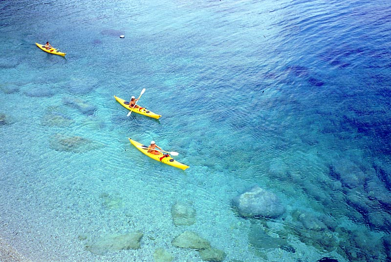 Kayak all'Elba